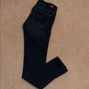 American Eagle low rise jeggings
